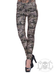 Zipped Camo Pants