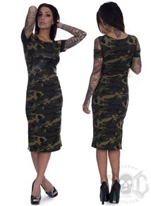 eXc Cutted arms Dress