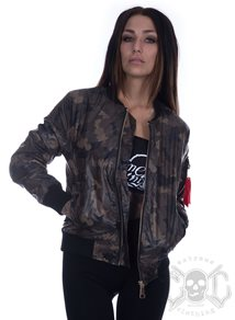 Dark Camo BomberJacket