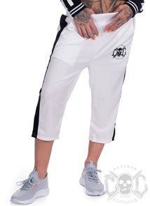 eXc Skull Short Pants, White