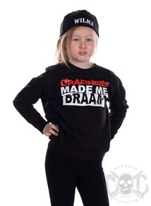 eXc Craziness Kids Sweatshirt, Black